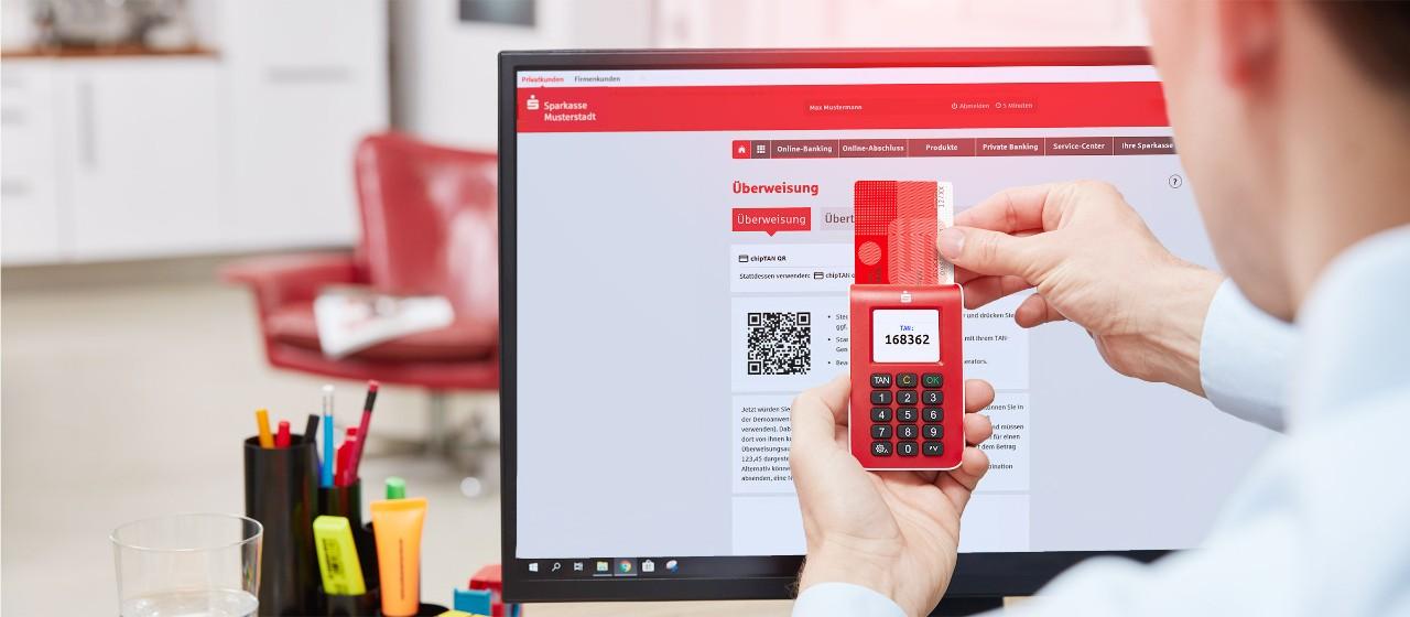 Online Banking Mit Chiptan Stadtsparkasse Rheine